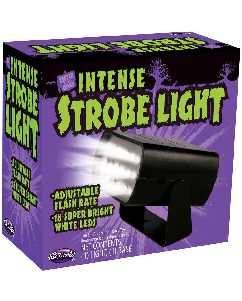 Mini Stroboscope Black For Halloween Karneval Universe Led Strobe Light