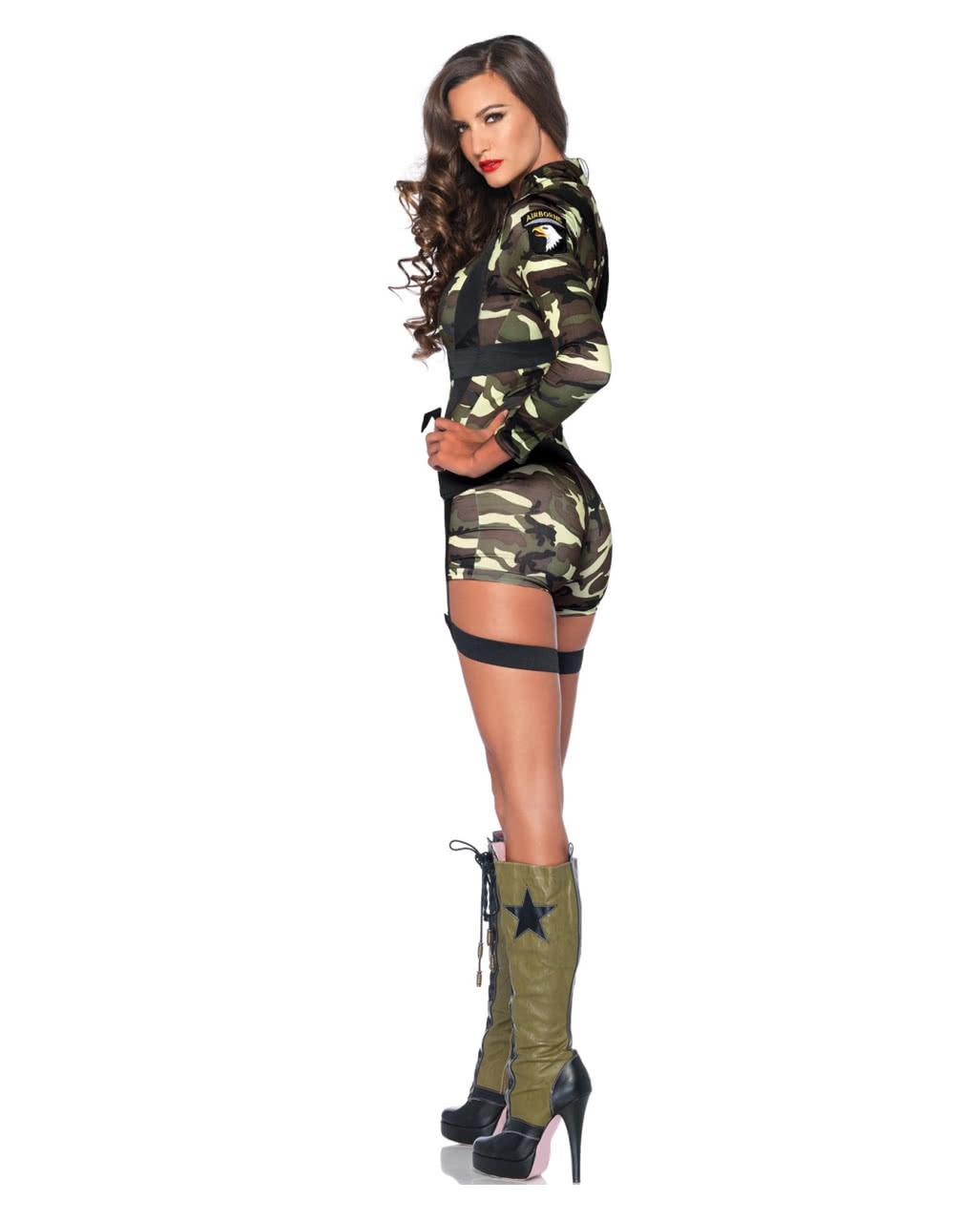 Army jacke kostum damen
