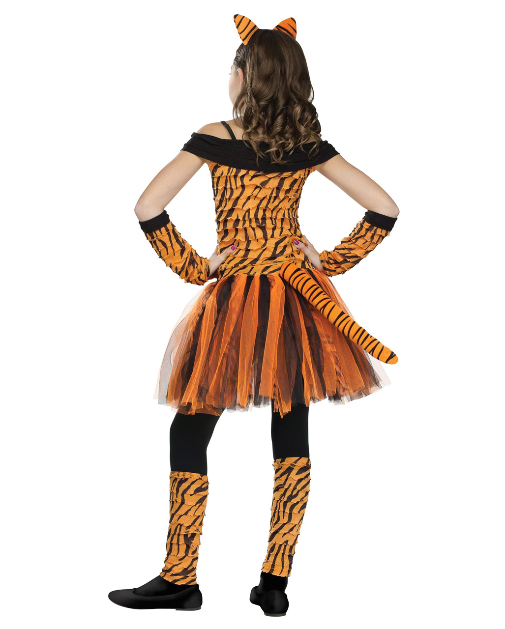 Miss Tiger Child Costume Tiger Costume For Girls Karneval Universe