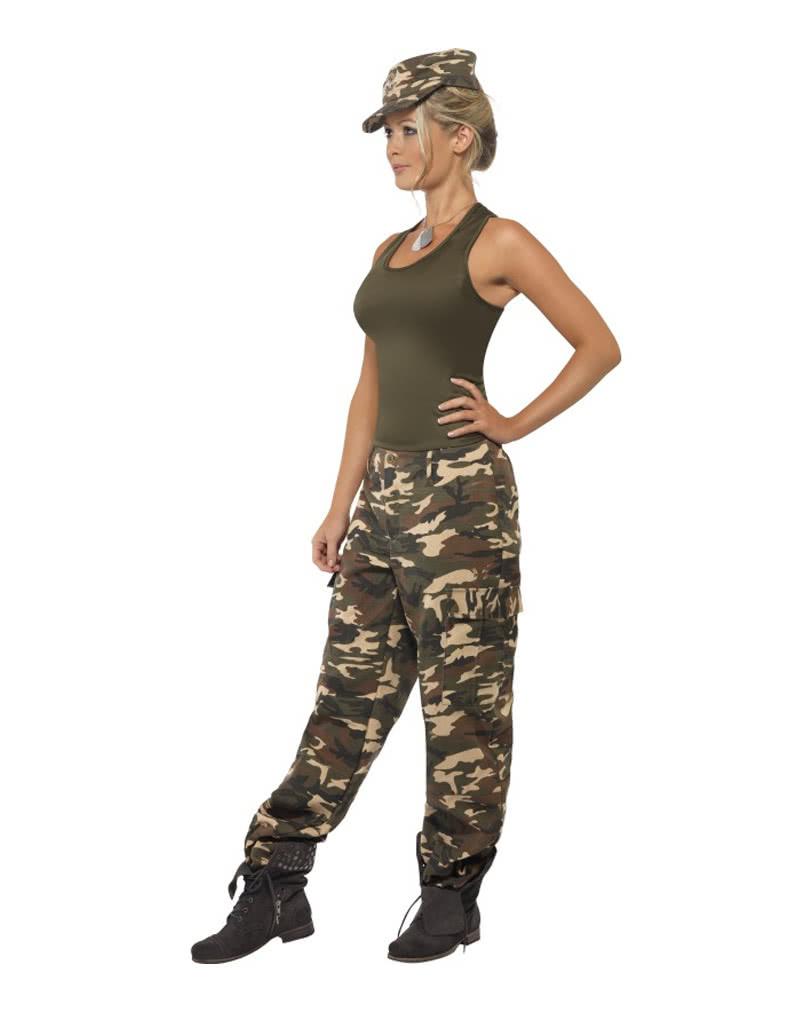 Für Karneval Camo Damenkostüm Armee Damen Universe Verkleidung Army
