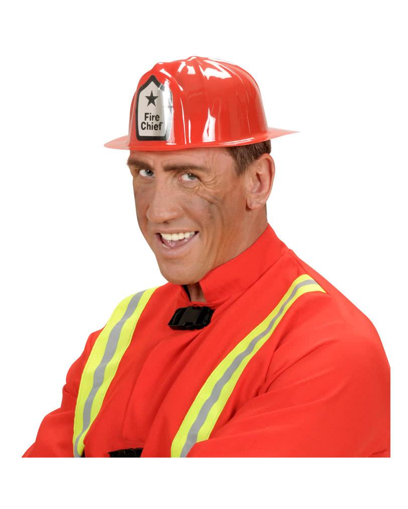 Roter Feuerwehr Helm Pvc Feuerwehrhelm Feuerwehrmann Karneval
