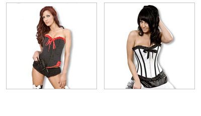Gothic & Rockabilly Corset Tops