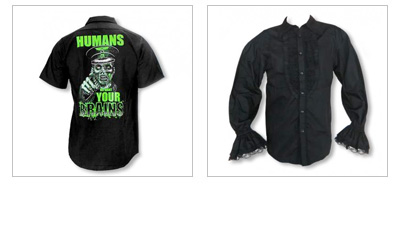 Gothic Shirts & Tops