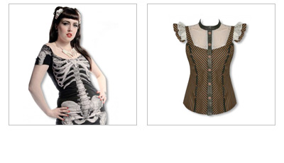 Gothic Damen Oberbekleidung