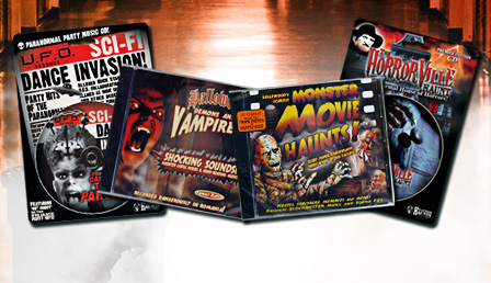 Halloween Party CDs & DVDs
