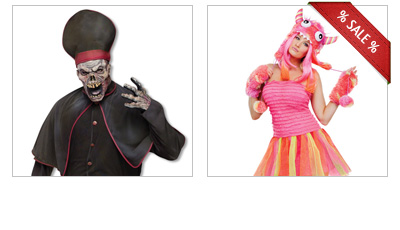 Reduced Halloween Costumes
