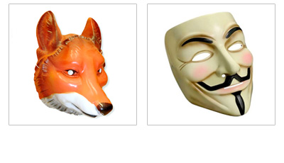 Satin Masks and Flocked Masks