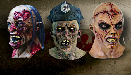 zombies zombie masken zombie schminke kaufen karneval. Black Bedroom Furniture Sets. Home Design Ideas