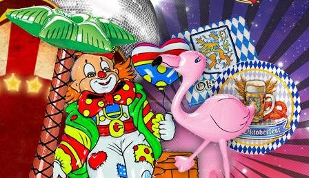 Karneval Dekoration