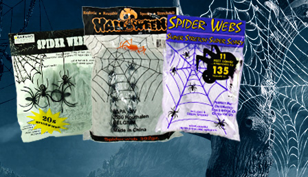 Halloween Cobwebs