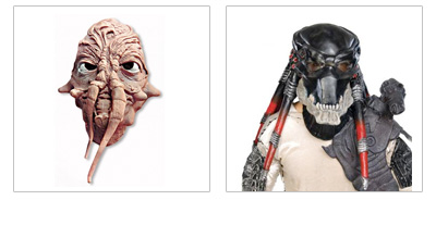 Science Fiction Masken