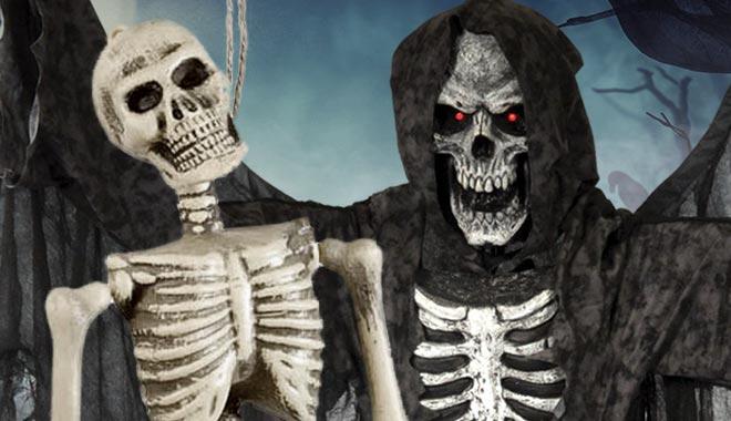 Skelett Deko