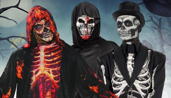 Skelett Kostüme
