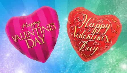 Foil Balloon Valentine