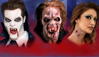 Vampir Make-Up