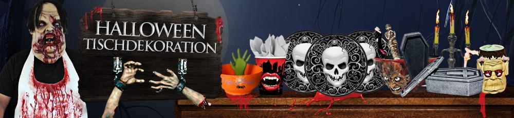 Halloween tischdekoration riesen auswahl an halloween - Tischdekoration halloween ...