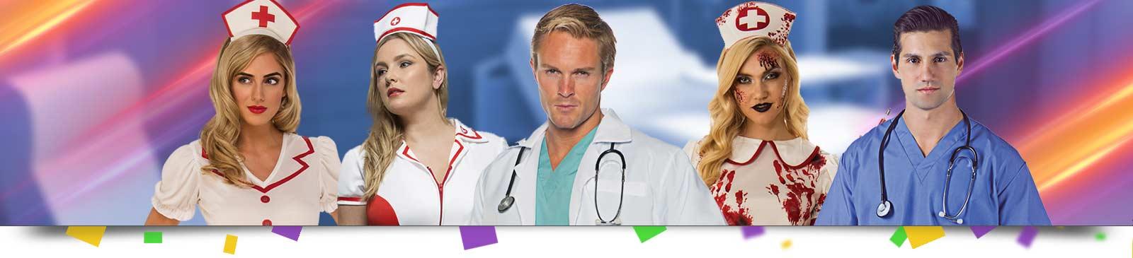 Arzt Kostüm & Krankenschwester Kostüm
