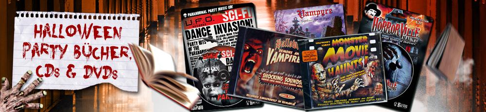 Halloween Party Bücher, CDs & DVDs