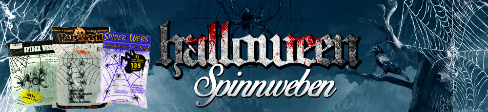 Halloween Spinnweben
