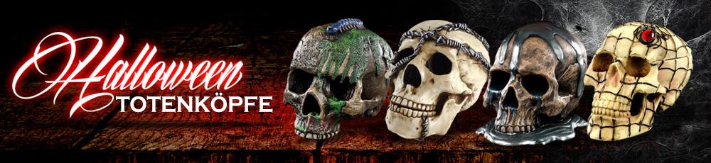 Halloween Totenköpfe