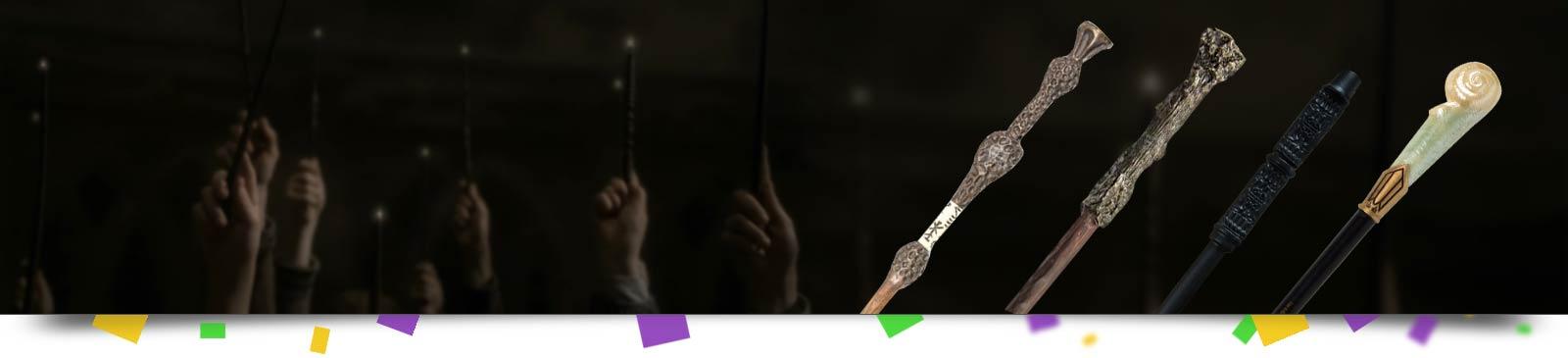 Harry Potter Zauberstäbe