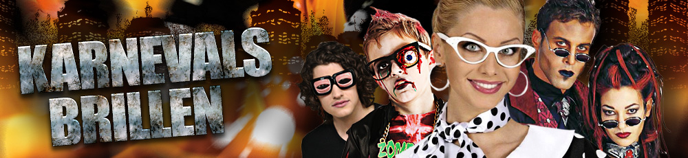 Karnevalsbrillen