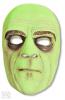 Horror Butler Half Mask Green