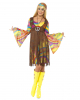 60's Hippie Costume With Fringed Dress