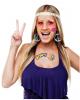 60er Jahre Hippie Zubehör Set