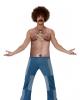 70er haariger Oberkörper Achselshirt