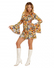70s Groovy Costume Dress Bubbles