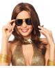 70er Jahre Sonnenbrille gold