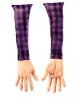 Abgetrennter Arm mit Hemdsärmel