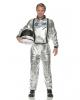 Astronauts Men Costume silver
