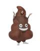 Aufblasbares Kackhaufen Emoji Kostüm für Erwachsene