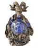 Baphomet mit Pentagramm LED Ball 16cm