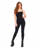 Basic Catsuit Black With Thin Straps
