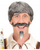 Bayer Men's Wig With Moustache & Chin Beard
