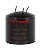 Bleeding Black Vampire Pillar Candle 7,5cm