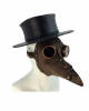 Brown Steampunk Plague Doctor Mask