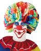 Farbige Schaumstoff Clownperücke