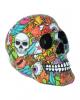 Calypso Pop Art Skull