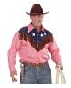 Kariertes Cowboy-Hemd mit Fransen