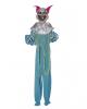 Crazy Clown Dekoration Blau