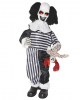 Creepy Clown With Doll Standing Figure