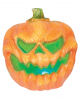 Creepy Pumpkin Halloween Deco With Light 19cm