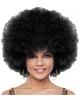 Schwarze Jumbo Afro Perücke Deluxe