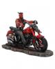 Teufel Biker auf Motorrad