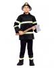 Feuerwehrman Kinderkostüm Medium