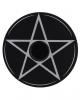 Flacher Pentagramm Kerzenständer